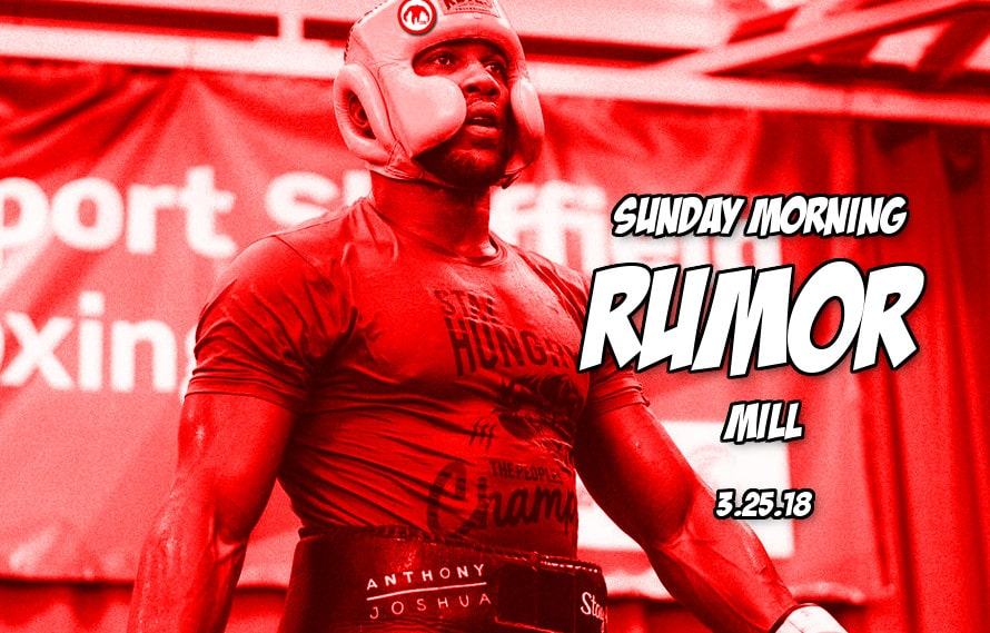Rousey's next feud, UFC interim belts, Zuffa boxing and more in the Sunday Morning Rumor Mill