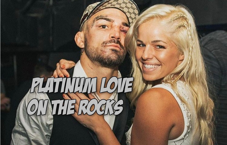 Pic: Love may be dead. Mike Perry and his girlfriend have officially broken up
