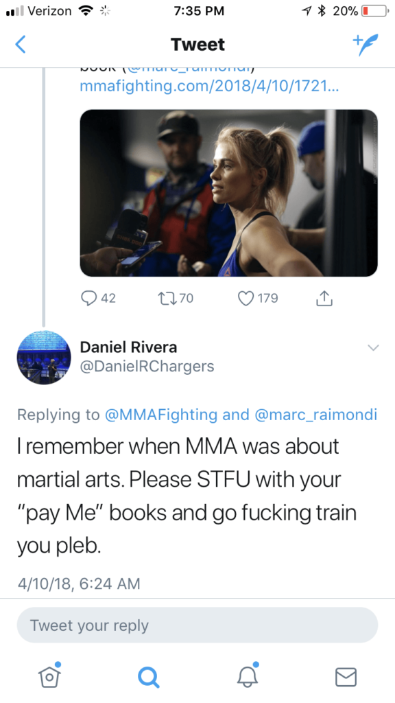 IMG_9925-576x1024 Paige VanZant reveals she was gang raped in high school & it brings out the worst in male MMA fandom