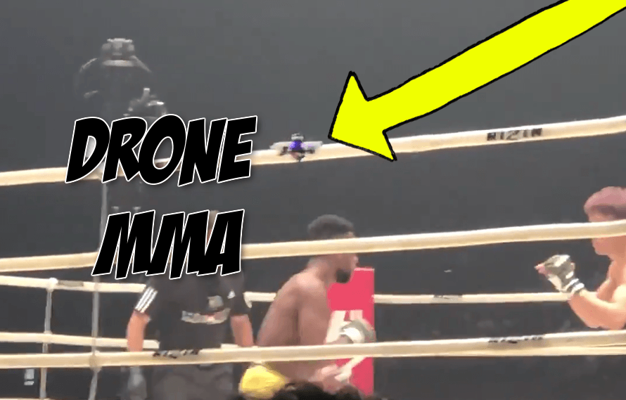 Video: Let's not overlook Rizin using drones and ref cams to capture fight footage at Rizin 10