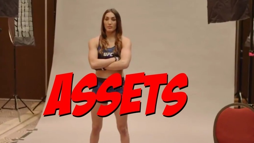 """Video: UFC Photographer Teaches Tatiana Suarez How to Cross Her Arms to Accentuate Her """"Assets"""""""