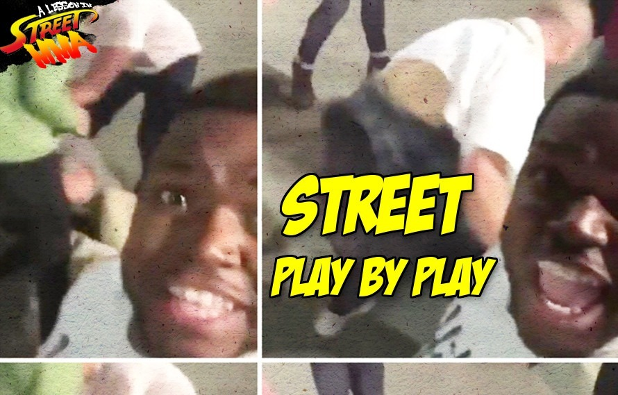 A Lesson in Street MMA: This charismatic cameraman steals the show during huge street brawl