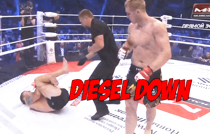 Video: 17-year MMA vet Joe Riggs blows out his knee with nasty injury