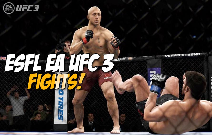 Esfl Returns With The Best Xbox Ea Ufc 3 Players In The World Throwing Down Middleeasy