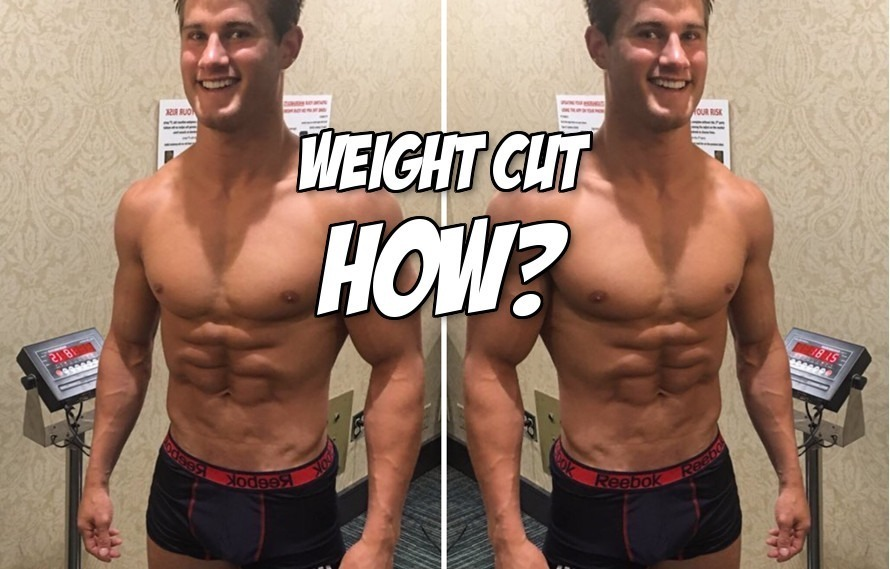 Pic: Sage Northcutt still has to lose 10 pounds off his body