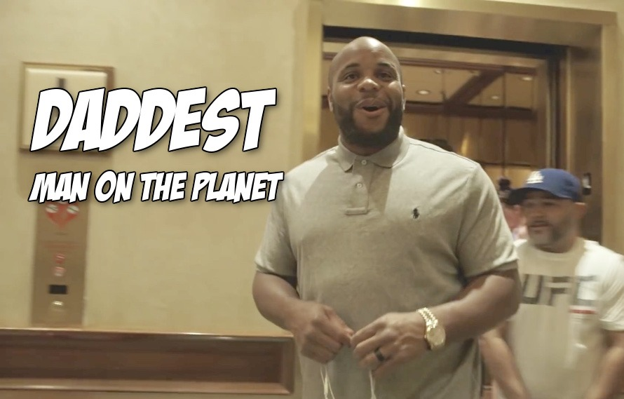 Pic: Daniel Cormier has the most Dad response to Nick Diaz's call out/diss