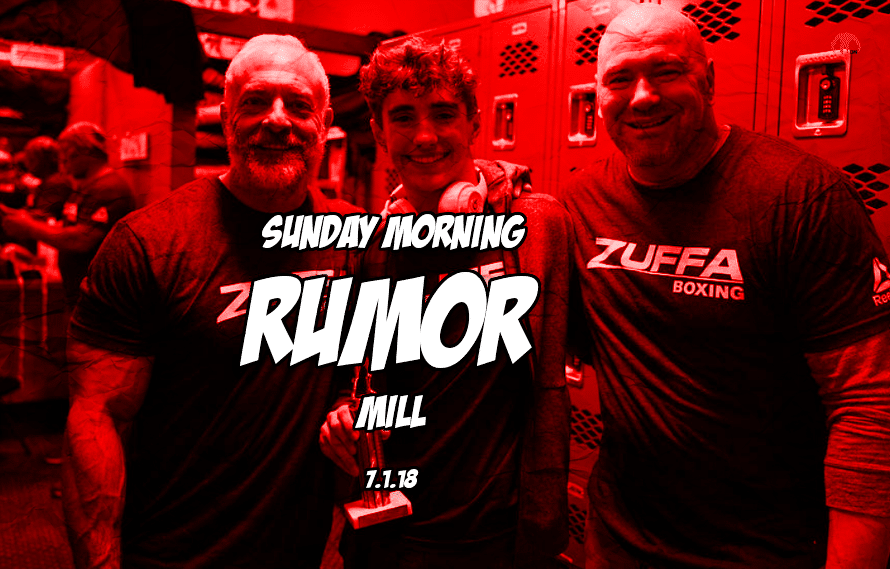 Zuffa boxing update, Rousey return, and more in the Sunday Morning Rumor Mill