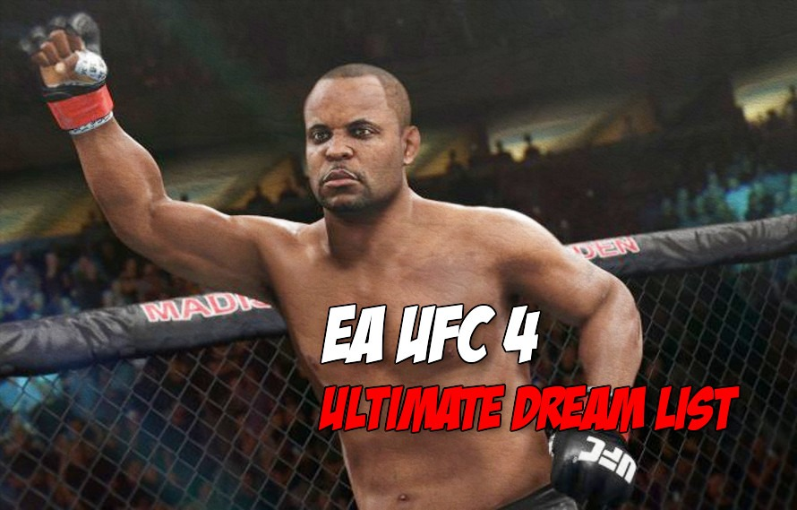 What could EA UFC 4 be like? Here is our ultimate EA UFC 4 dream list