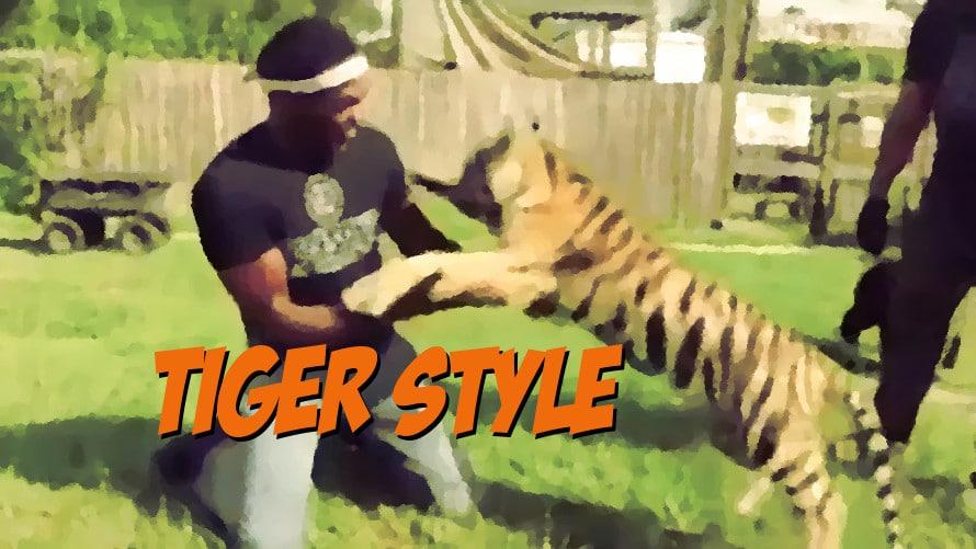 Video: Watch Jon Jones Wrestle a Baby Tiger