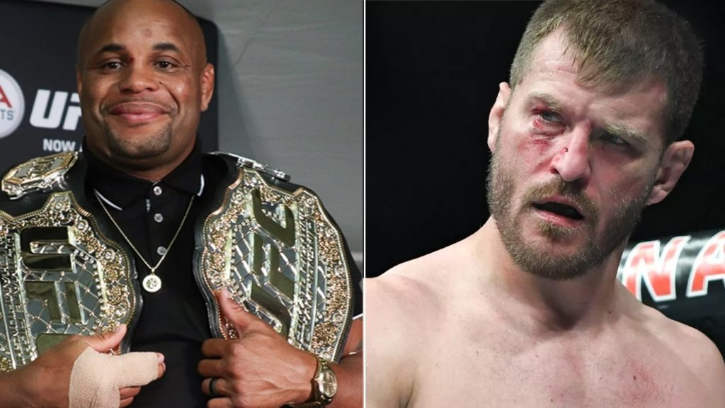 UFC Champ Daniel Cormier Says If Brock Lesnar Can't Fight, I'll Rematch Stipe Miocic
