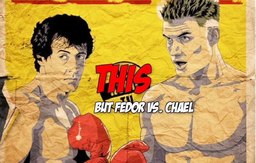 New Rocky IV inspired Fedor vs. Sonnen poster will probably make you want to see Chael get KO'd