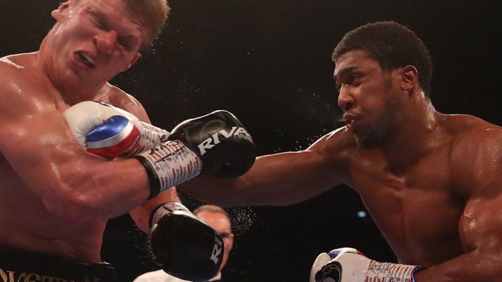 Anthony Joshua Brutally KO's Alexander Povetkin In Round 7