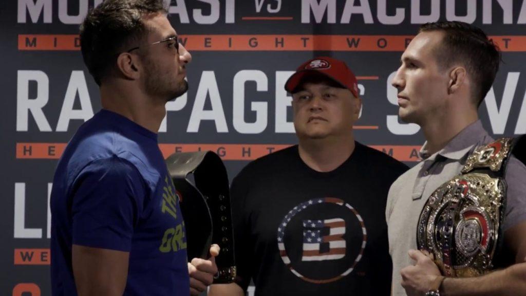 Video: Mousasi vs. MacDonald, Rampage vs. Silva Square Off From Bellator 206 Media Day