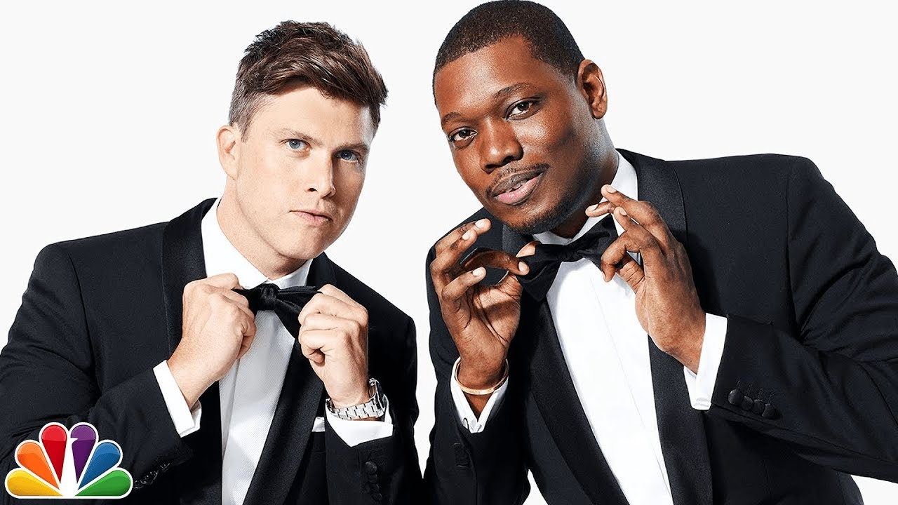 Colin-Jost-and-Michael-Che All You Need To Know About Emmy Awards 2018