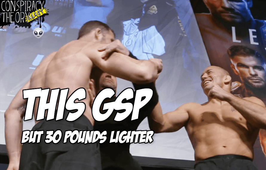 Pic: Before Conor vs. Khabib, Georges St. Pierre is looking like a lightweight