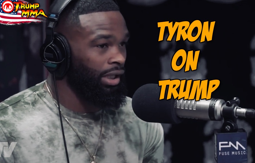 Video: Tyron Woodley gives his opinion on Donald Trump, which will make half of you happy/upset