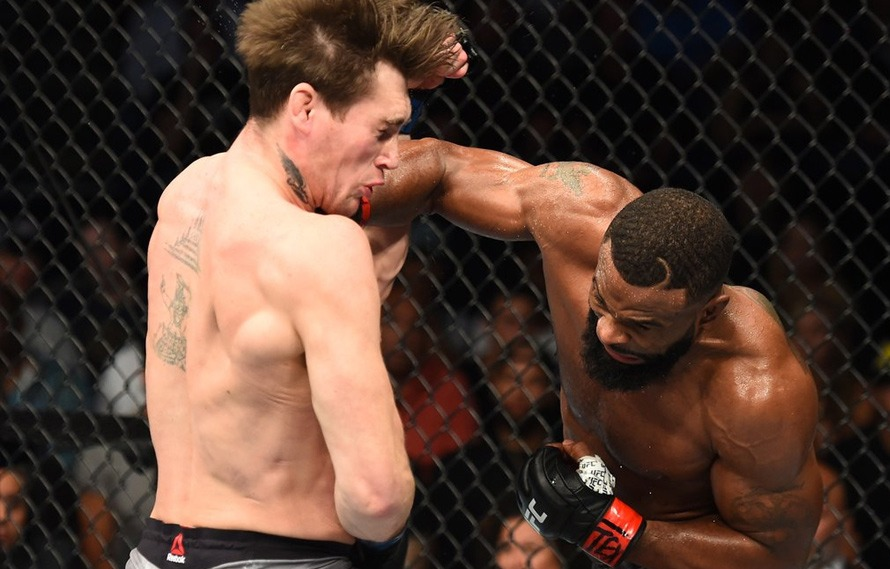 Tyron Woodley Beats Darren Till Via Submission To Retain The Belt