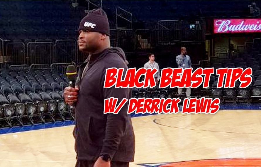Watch: Derrick Lewis discusses ass eating at the UFC 230 workouts