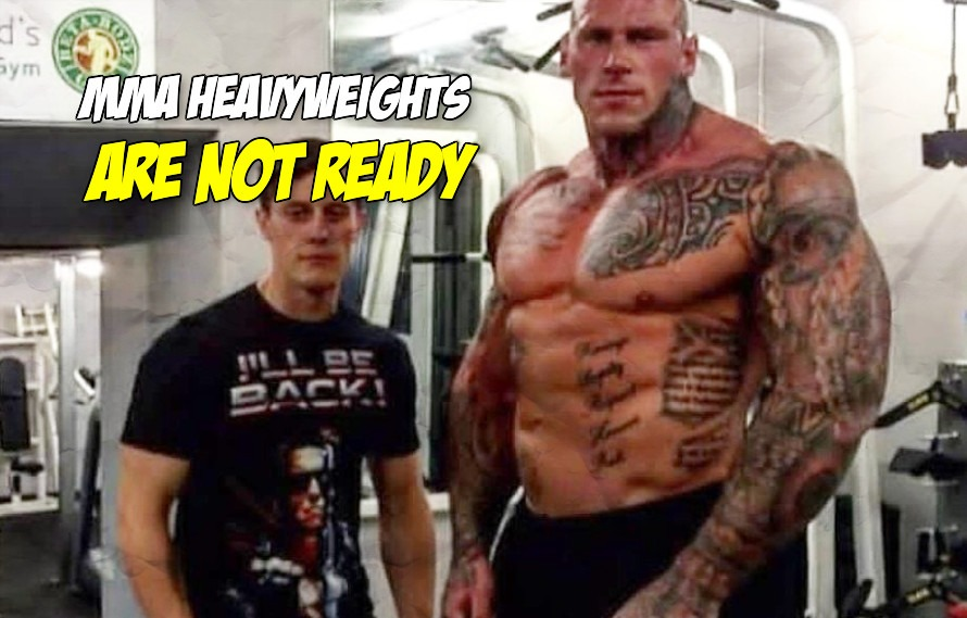 Pics: KSW signs 6'8, 280 lb bodybuilder Martyn Ford to fight MMA