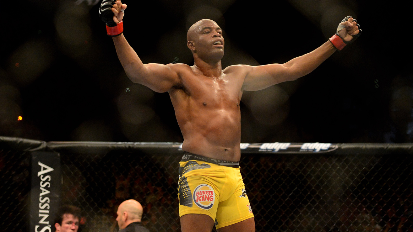 Anderson-Silva-5 All-Time Best MMA Fighters