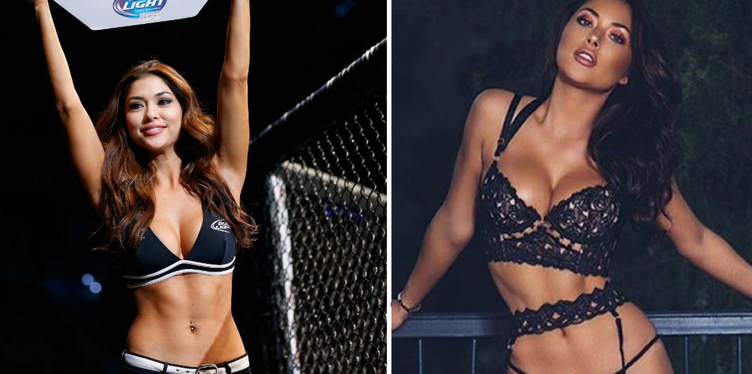 Arianne-Celeste Top 10 Most Beautiful MMA Ring Girls 2018