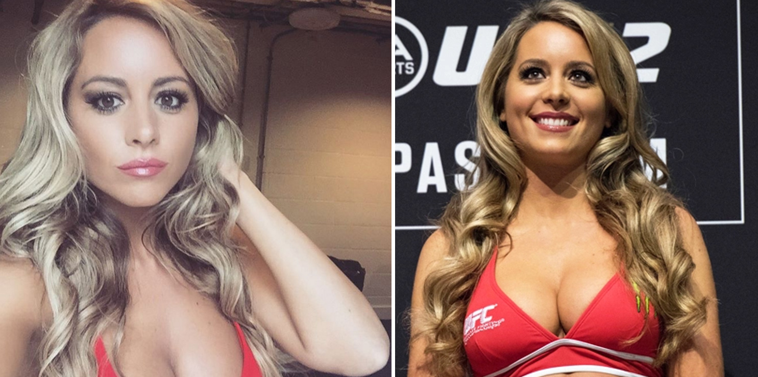 Carly-Baker Top 10 Most Beautiful MMA Ring Girls 2018