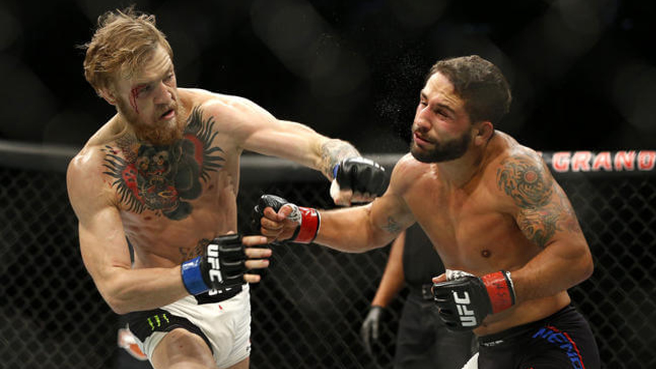 Chad-Mendes-Conor-Mcgregor Conor McGregor