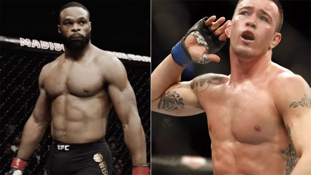 Tyron Woodley Is Willing To Fight Colby Covington At UFC 230 If His Thumb Recovers