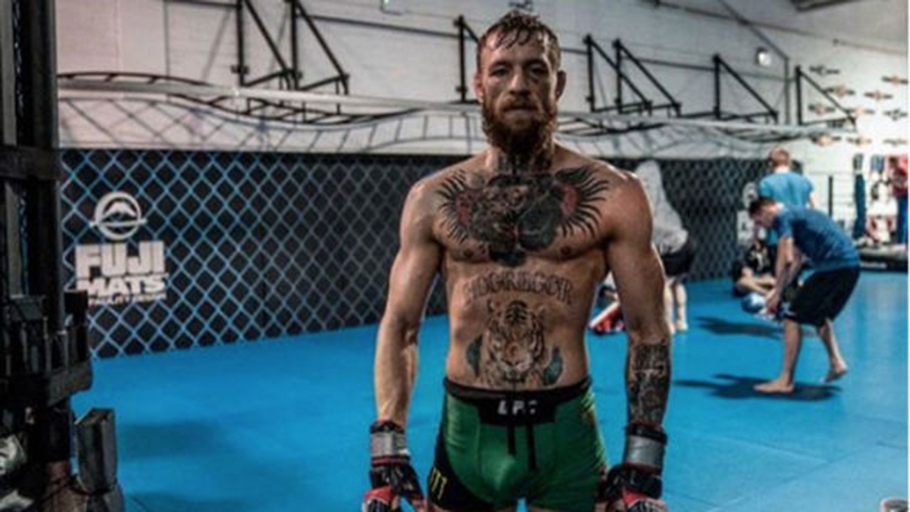 "Conor McGregor Describes ""The Entry Ticket"" For UFC 229 Press Conference"