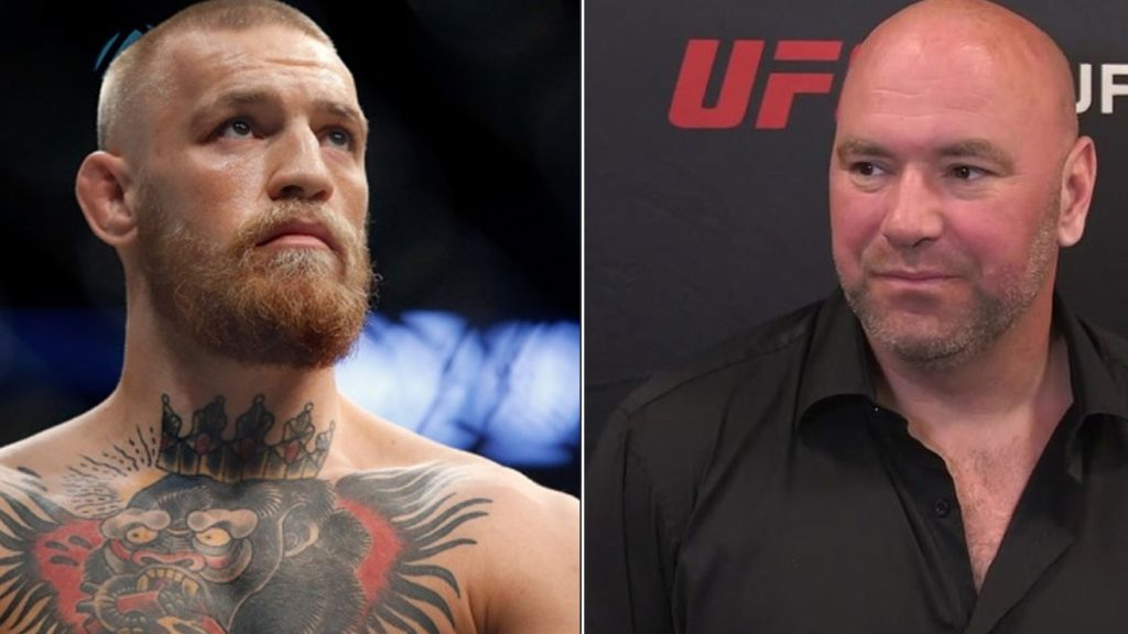 Dana White: 'I Think Conor Mcgregor Is UFC's One Of The Most Underrated Fighters'