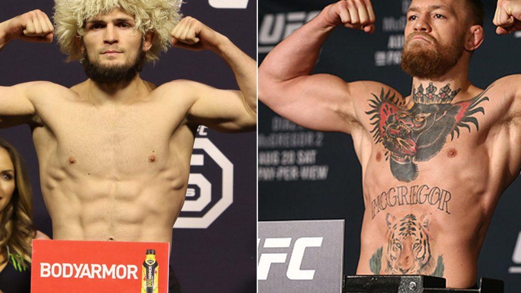 UFC 229 Mcgregor vs. Khabib Weigh-In Results Live Stream