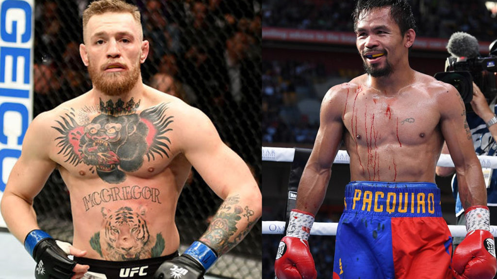 Conor McGregor: Offer Was Made For Manny Pacquiao Boxing Match