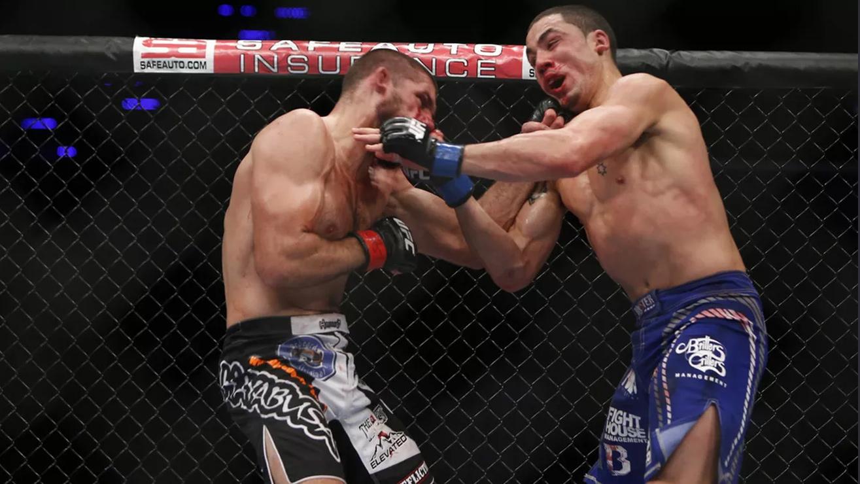 Court-McGee-Def-Robert-Whittaker-At-UFC-Fight-Night-27 Robert Whittaker