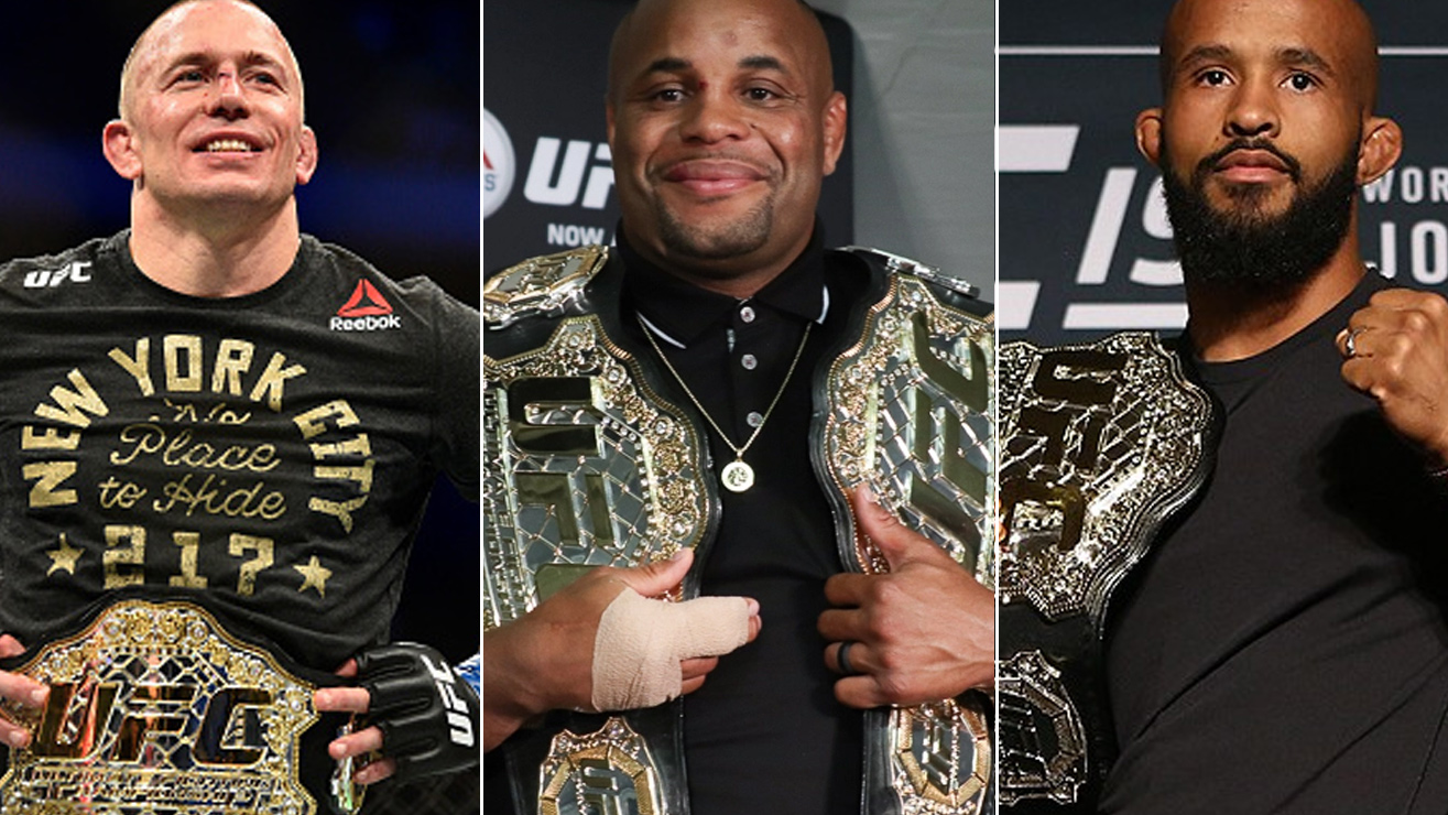 Cormier Says Johnson, St-Pierre Share His GOAT Distinction But Jones And Silva Do Not