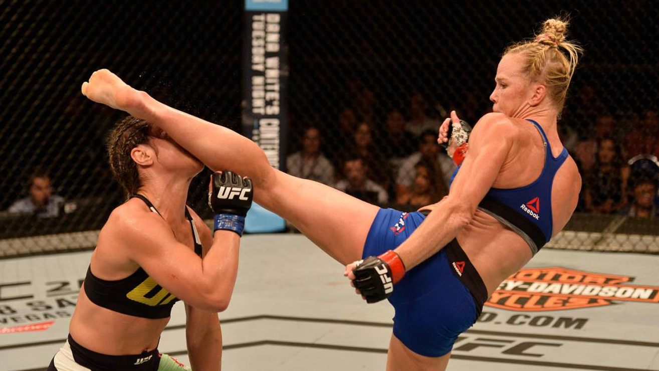 Holly-Holm-Bethe-Correia Holly Holm