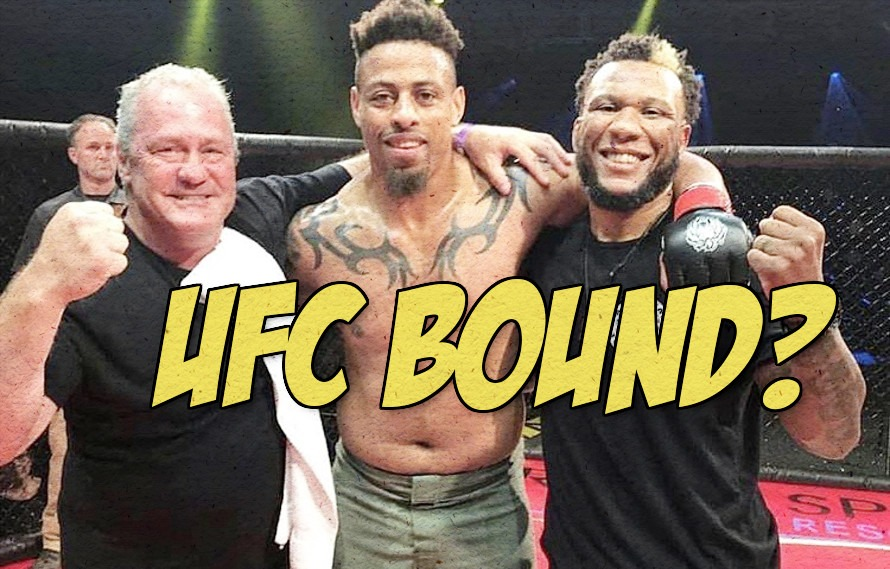 Pic: Dana White teases Greg Hardy getting a big fight soon