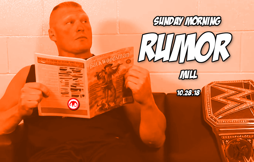MMA trades, Lesnar update and more in the Sunday Morning Rumor Mill