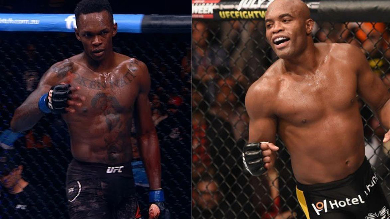 Israel Adesanya Wants To Fight Anderson Silva
