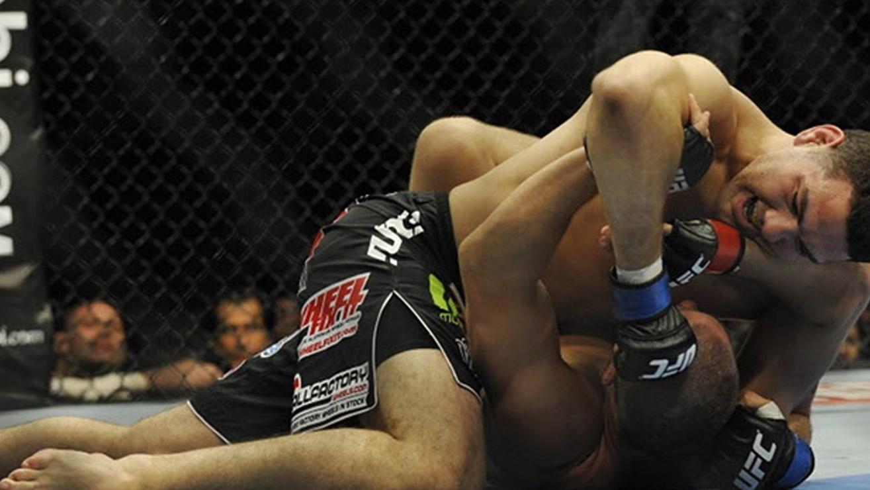 Jesse-Bongfeldt-VS.-Chris-Weidman-UFC-131 Chris Weidman