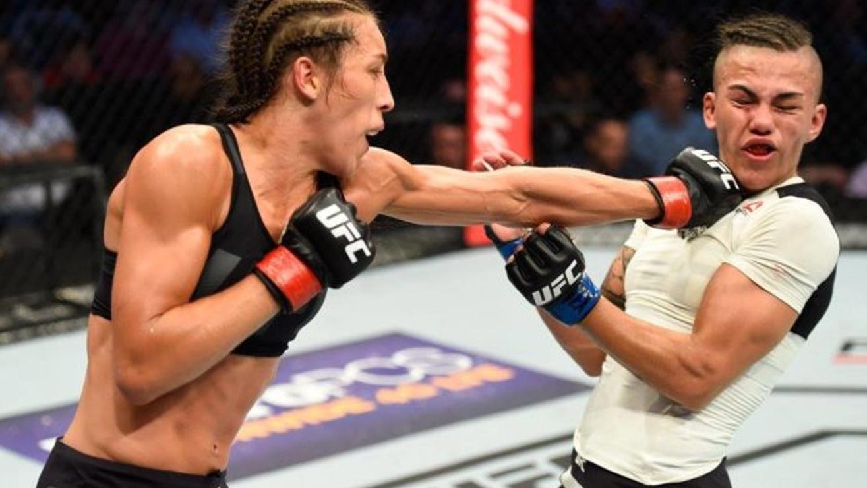 Jessica-Andrade-Joanna-Jedrzejczyk-UFC-211 Joanna Jedrzejczyk
