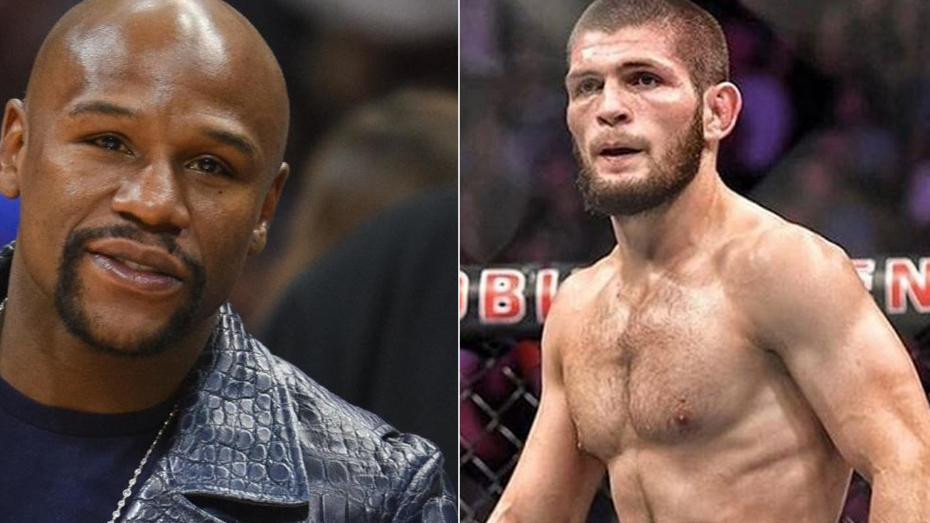 Khabib Calls Out Floyd Mayweather: 'There's Only One King In The Jungle'