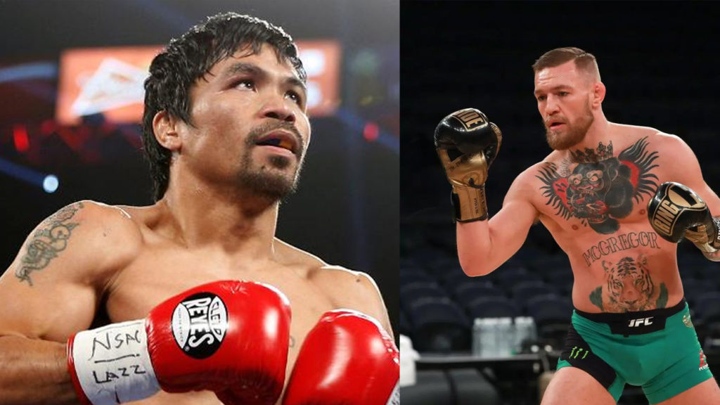 Manny Pacquiao Wants To Fight Conor Mcgregor In 2018