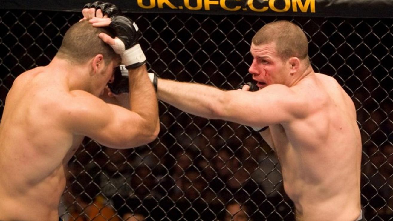 Matt-Hamill-vs-Michael-Bisping-UFC-75 Michael Bisping