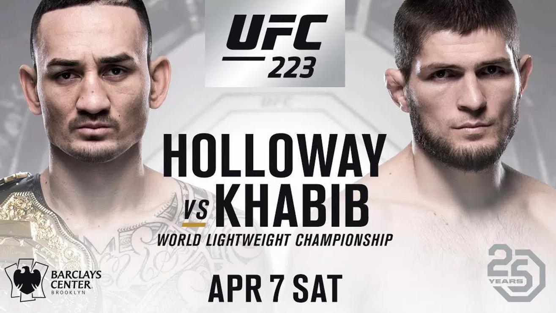 UFC 223 Press Conference: Max Holloway Vs. Kahbib Nurmagomedov