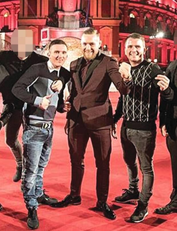 Mcgregor-2 Conor McGregor Poses With Irish Criminals Hours Before UFC 223 Rampage