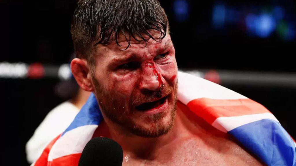 Michael Bisping Said He Wouldn't Be Fighting At UFC London