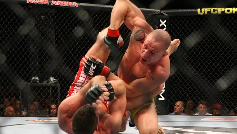Michael-Bisping-Vs.-Wanderlei-Silva-UFC-110 Michael Bisping