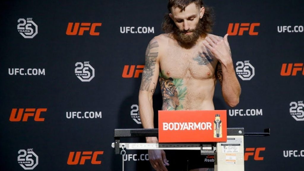 Michael Chiesa Suffered Panic Attack, Thought He's Going To Die During Weight Cut