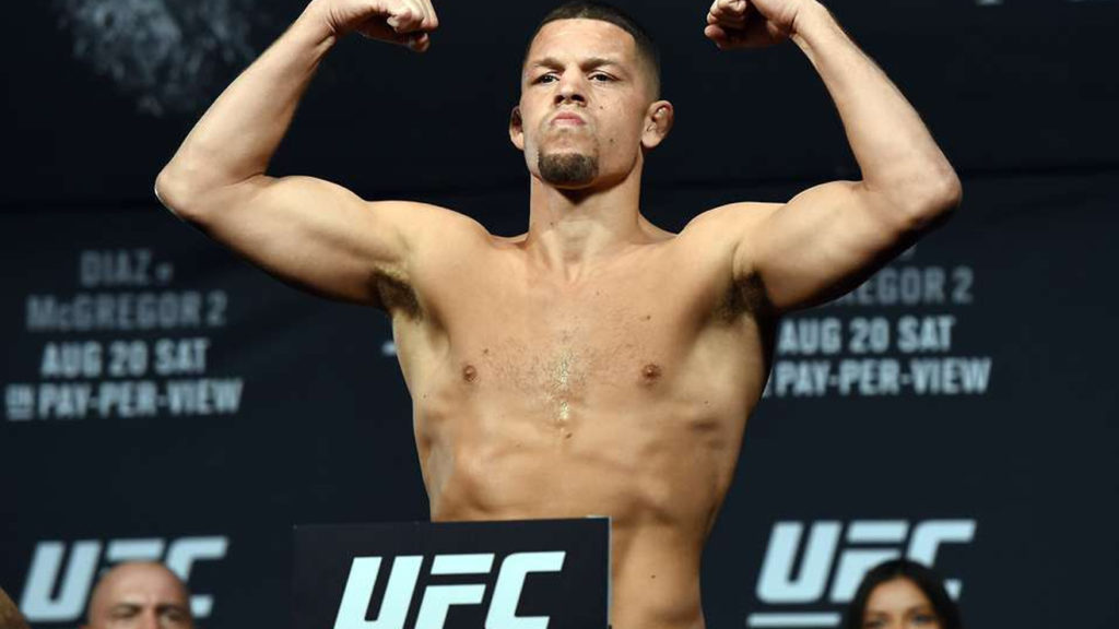 Nate Diaz  – Complete Profile: Height, Weight, Fight Stats