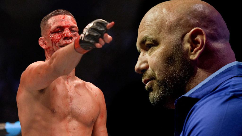 Nate Diaz's Harsh Response To Dana White's Claim: 'Shut up, B*tch.'